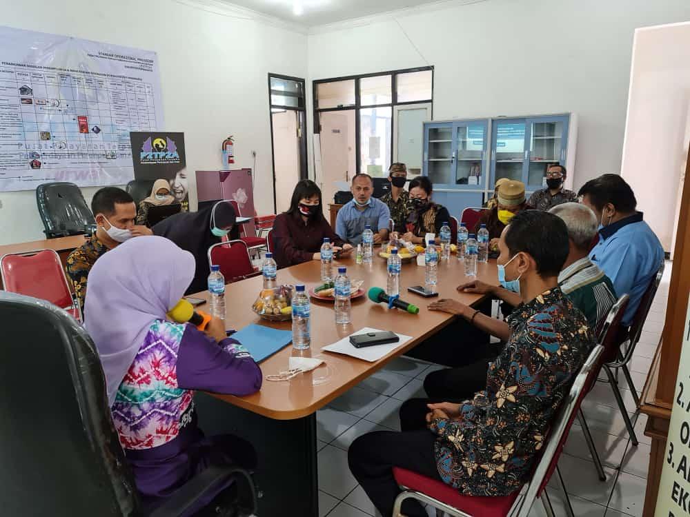 Kamis, 11 Februari 2021 Menerima Kunjungan Kerja Komisi II DPRD Kota Tangerang ke Bale Titirah P2TP2A