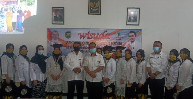 Selasa, 22 Desember 2020 Wisuda Sekoper Cinta Angkatan Kedua Tahun 2020 di Desa Cikao Bandung Kecamatan Jatiluhur