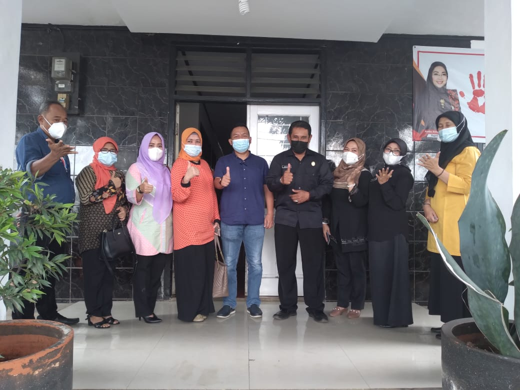 Rabu, 03 Februari 2021 Kunjungan Kerja Komisi IV DPRD Kabupaten Purwakarta di Kantor DinsosP3A