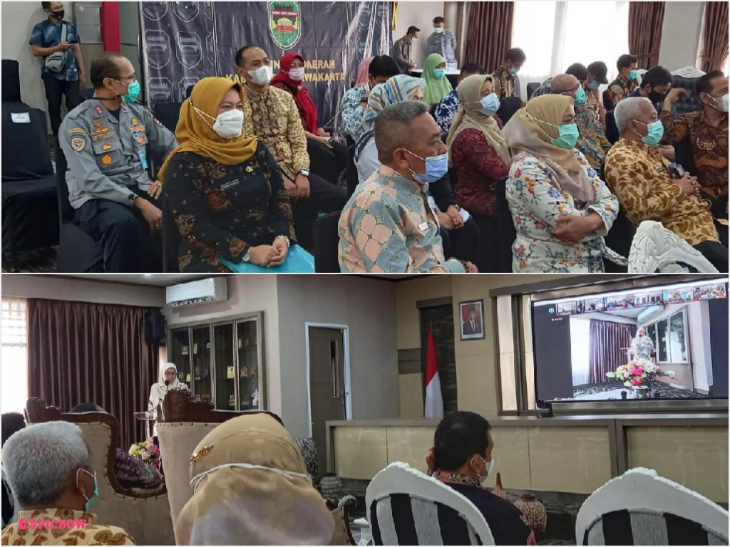 Kamis, 25 Februari 2021 Rapat Forum Konsultasi Publik RKPD Kabupaten Purwakarta Tahun 2022 di Ruang Janaka Setda Pwk