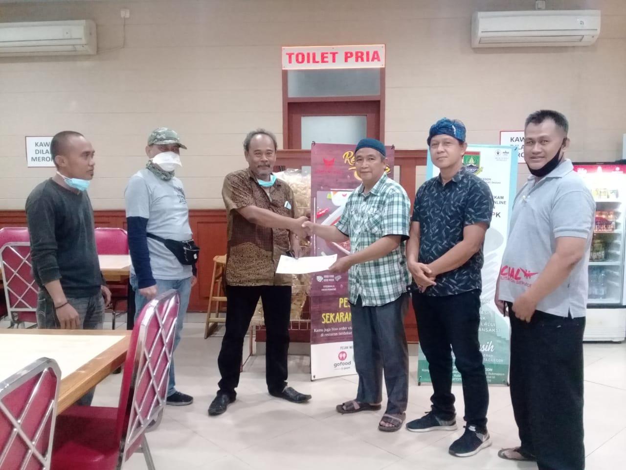 Jum'at, 29 Janurai 2021 Serah Terima Orang Terlantar dengan Pihak Keluarga di Serang