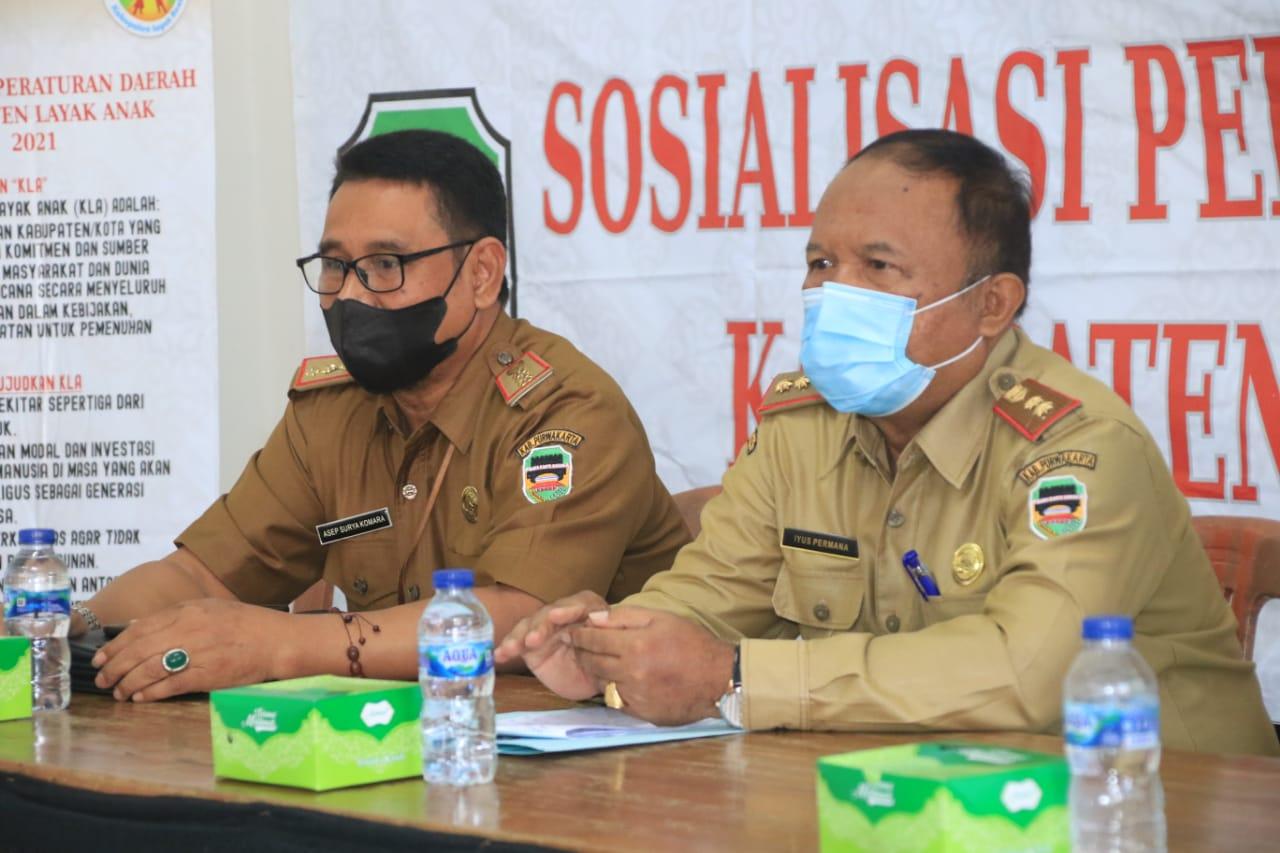Sosialisasi Perda Kabupaten Layak Anak