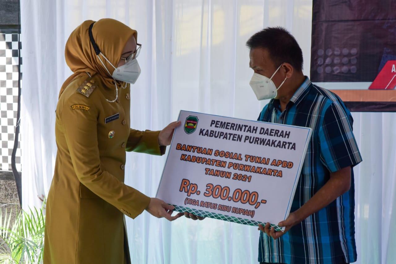 Pemkab salurkan bantuan sosial bagi 15000 KPM