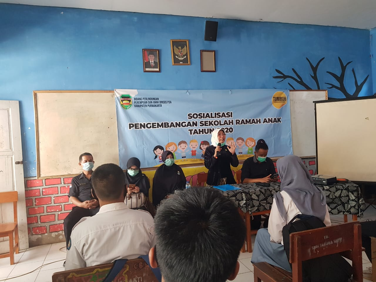 Dinsos P3A Kab.Purwakarta Sosialisasikan Pengembangan Sekolah Ramah Anak